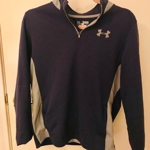 Under Armour sweater, Size Youth XL, Dark Blue